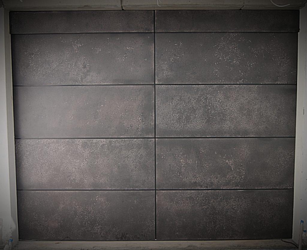 Graphite Garage Door