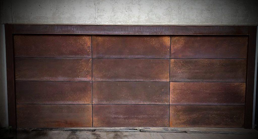 Rust Garage Door